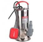 Насос ЗУБР погружной для грязной воды, корпус из нержавеющей стали, пропускная способность 280 л/мин, 1100Вт