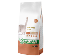 Natures Protection Neutered 7 kg cat food
