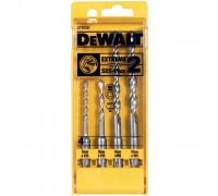 DeWalt, DT9700, Набор буров для перфораторов SDS-plus EXTREME2 (4 шт): 5 x 110, 6 x 110, 8 x 160,10