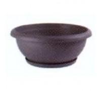Чаша Terrae 50 с поддоном Omnia 40 серый