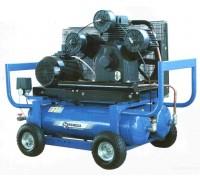 Компрессор поршневой с бензиновым двигателем Remeza СБ4/С-90.LB75.SPE390E