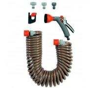 Шланг спиральный  арт. 4647 в комплекте Gardena 04646-20.000.00