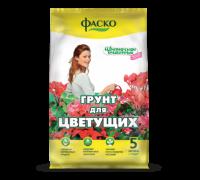 """Грунт Цветочное счастье Для цветущих,  5л, """"Фаско"""""""
