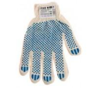 Перчатки DEXX трикотажные, 7 класс, х/б, с защитой от скольжения