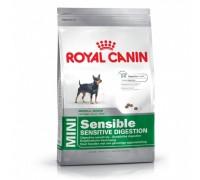 Royal Canin Mini Sensible Корм для собак с чувствительным пищеварением 2kg