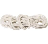 Веревка хб, D 10 мм, L 11 м, крученая, 211 кгс СИБРТЕХ 94001