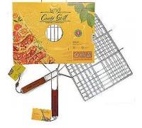 Решетка для гриль CW для сосисок и овощей Combi Grill (размер 300*600*20, хромир.сталь, дерев.ручка,