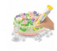 Набор для декорации торта с электрической ручкой «КОНДИТЕР ПЛЮС» TK 0118