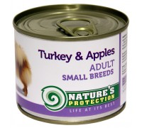 NP Dog Adult Small Breeds Turkey&Apples 200g dog food