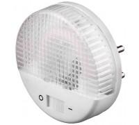 Светильник-ночник СВЕТОЗАР, U-образная люминесцентная лампа,  с выключателем, 1W, цветовая температу
