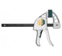 """Струбцина KRAFTOOL  """"EXPERT"""" """"EcoKraft"""" ручная пистолетная, металлический корпус, 150/350мм, 200кгс"""