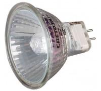 Лампа галогенная СВЕТОЗАР с защитным стеклом, цоколь GU5.3, диаметр 51мм, 75Вт, 220В
