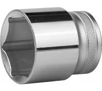 """Торцовая головка KRAFTOOL """"INDUSTRIE QUALITAT"""", Cr-V, SUPER-LOCK, хромосатинированная, 1/2"""", 32 мм"""