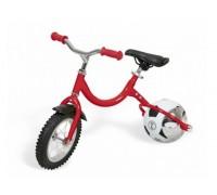 Беговел с колесом в виде мяча «ВЕЛОБОЛЛ» красный DE 0050