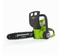 Цепная пила аккумуляторная Greenworks G40CS30 (без з/у и аккум)