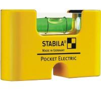 Уровень для электрика Stabila Pocket Electric