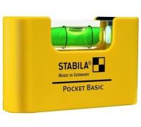 Уровень для электрика Stabila Pocket Pro Magnetic