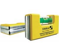 Уровень для электрика Stabila Pocket Magnetic