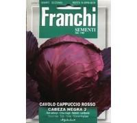 Капуста краснокочанная Cabeza Negra 3 (0,2 гр) 29/5 Franchi Sementi