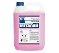 МЕГАСАН 5л Средство для очистки и дезинфекции сантехники и кафельной плитки концентрированное