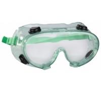 Очки STAYER защитные самосборные закрытого типа с непрямой вентиляцией, поликарбонатные прозрачные л