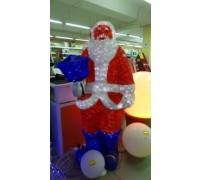 Дед Мороз с фонарем 160х100см, PHS-005-24V,  RI GE
