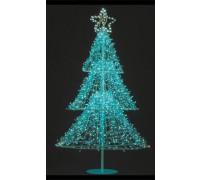 Елочка синяя, 95х95х210см, PHD-007-2,1М-5F
