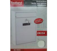 32051008  Почтовый ящик IBIZA (301х260х90) Металлический белый  BG.400.01 Arthis GmbH