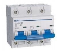 Автоматический выключатель DZ158-125 3P C 125 Chint