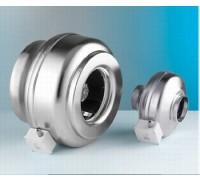 Проходной радиальный вентилятор (металлический) Dospel WK 125 оцинк.