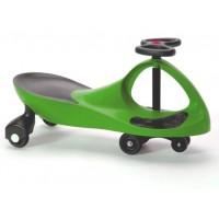 """Машинка детская, """"БИБИКАР"""" с полиуретановыми колесами, зеленая DE 0042"""
