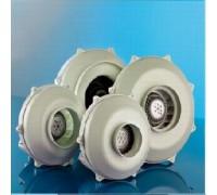 Проходной радиальный вентилятор (металлический) Dospel WK 150 пластик.