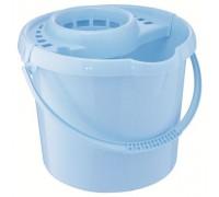 Ведро пластмассовое круглое с отжимом 12л, сиреневое ТМ Elfe  92963