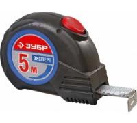 """Рулетка ЗУБР """"ЭКСПЕРТ"""", двухкомпонентный корпус, автостоп, 5 м / 25 мм"""