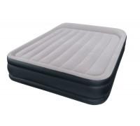 Надувная кровать Intex 163*208*48 + насос встроенный 67738
