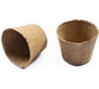 Торфяной горшок Крепыш 110*100 мм (10 шт в упаковке)