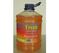 Мыло  жидкое  Fresh   3.0 л.    Персик