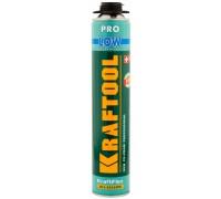 Пена KRAFTOOL KRAFTFLEX PREMIUM PRO LOW профессиональная, монтажная, пистолетная, всесезонная, 800мл