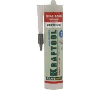 Клей монтажный KRAFTOOL KraftNails Premium KNP-701 полиуретан экстрасильный, прозрачный, универс, во