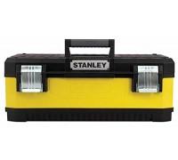 """Stanley, 1-95-613, ЯЩИК ДЛЯ ИНСТРУМЕНТА """"STANLEY"""" МЕТАЛЛОПЛАСТМАССОВЫЙ ЖЕЛТЫЙ (23080) 23"""" / 59,2 X 30,3 X 89,3CM"""