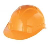 Каска защитная из ударопрочной пластмассы оранж. СИБРТЕХ 89113