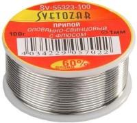 Припой СВЕТОЗАР оловянно-свинцовый, 60% Sn / 40% Pb, 100гр
