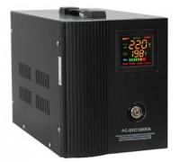 Стабилизатор PC-SVR 1500VA Верт. (Эл.) черный