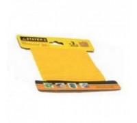 """Шнур STAYER """"MASTER"""" хозяйственно-бытовой, полипропиленовый, вязанный, с сердечником, желтый, d 3, 2"""