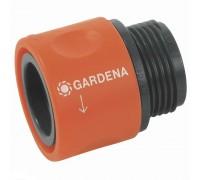 """Коннектор для резьбовых шлангов 26,5 мм (3/4""""), без упаковки Gardena 00917-50.000.00"""