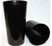 Кашпо Лилия 190мм, черный