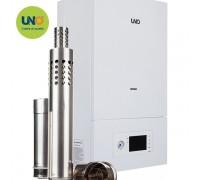 Котел газовый настенный UNO PIRO 28 кВт с коаксиальным дымоходом