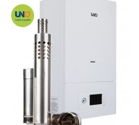 Котел газовый настенный UNO PIRO 40 кВт с коаксиальным дымоходом
