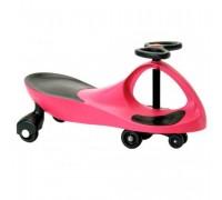 """Машинка детская, """"БИБИКАР"""" с полиуретановыми колесами, розовая DE 0044"""