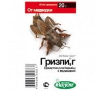 Инсектицид от медведки Гризли 20гр